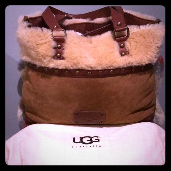 UGG Bags   Sheepskin Tote Bag   Poshmark 61eedfd031